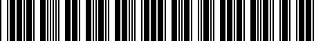 Barcode for 5GV075105A