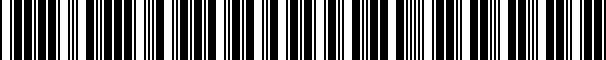 Barcode for CVC2SS98VW7000