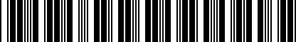Barcode for DRG002526